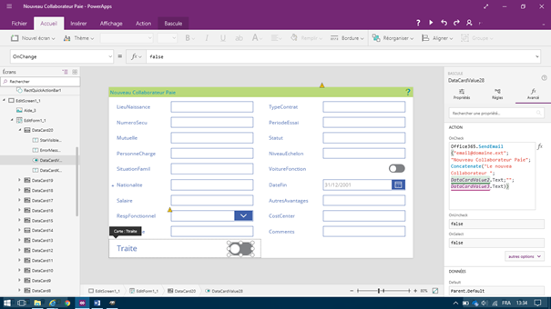 microsoft powerapps application compl u00e8te de gestion d